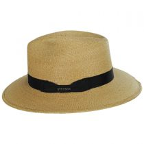 Trailhead Palm Straw Fedora Hat in