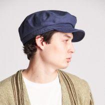 Unstructured Cotton Fiddler Cap in