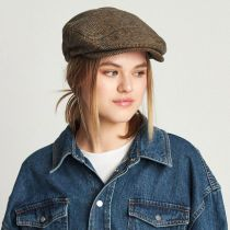 Plaid Barrel Wool Blend Ivy Cap in