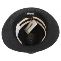 Highliner Hemp Straw Fedora Hat alternate view 12