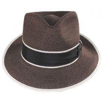 Gatsby Hemp Straw Fedora Hat in