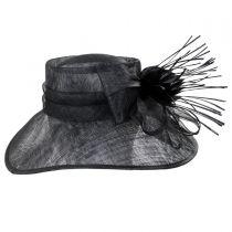 Aquaria Sinamay Straw Lampshade Hat alternate view 3