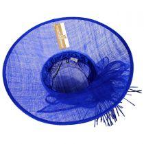 Aquaria Sinamay Straw Lampshade Hat in