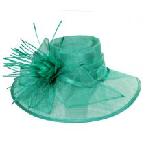Aquaria Sinamay Straw Lampshade Hat alternate view 6