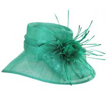 Aquaria Sinamay Straw Lampshade Hat alternate view 7