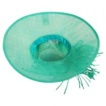 Aquaria Sinamay Straw Lampshade Hat alternate view 8
