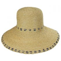 Belladonna Raffia Straw Sun Hat alternate view 6