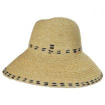 Belladonna Raffia Straw Sun Hat alternate view 7