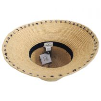 Belladonna Raffia Straw Sun Hat alternate view 8