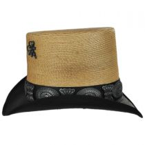 Coachella Mexican Palm Straw Top Hat alternate view 3