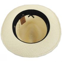 Grade 8 Panama Straw Fedora Hat alternate view 4