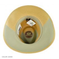 Limestone Toyo Straw Outback Hat alternate view 12