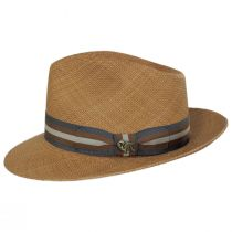 San Juliette Panama Straw Fedora Hat alternate view 7