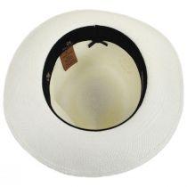 Milagro Panama Straw Fedora Hat alternate view 4