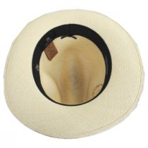 Don Juan Grade 8 Panama Straw Fedora Hat alternate view 4