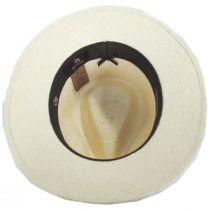 San Jacinto Panama Straw Fedora Hat in