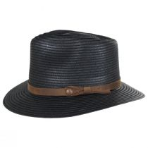 Outdoor Toyo Straw Fedora Hat alternate view 3