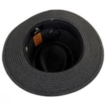 Outdoor Toyo Straw Fedora Hat alternate view 4