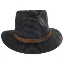 Outdoor Toyo Straw Fedora Hat in