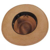 Ritzy Panama Straw Fedora Hat in