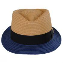 Tribeca Toyo Straw Fedora Hat alternate view 2