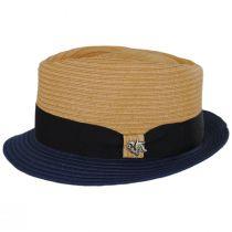 Tribeca Toyo Straw Fedora Hat in