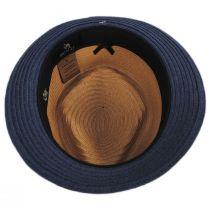 Tribeca Toyo Straw Fedora Hat alternate view 4