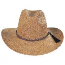 Frisco Raffia Straw Aussie Western Hat in