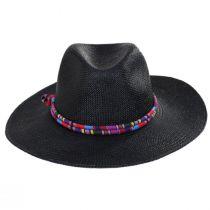 Kara Panama Straw Fedora Hat in