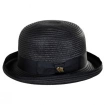 Kanye Toyo Straw Bowler Hat alternate view 3