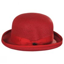 Kanye Toyo Straw Bowler Hat alternate view 11