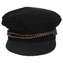 Kayla Leather Suede Fiddler Cap alternate view 52