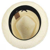 Diamond Panama Straw Fedora Hat alternate view 4