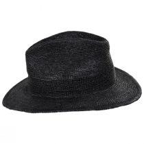Messer Crochet Raffia Straw Fedora Hat alternate view 3