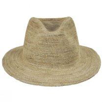 Messer Crochet Raffia Straw Fedora Hat alternate view 14
