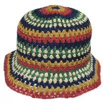 Essex Crochet Raffia Straw Bucket Hat alternate view 2