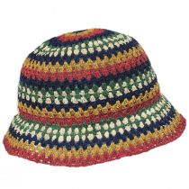 Essex Crochet Raffia Straw Bucket Hat alternate view 3