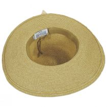 Water Lily Toyo Straw Boater Hat alternate view 4