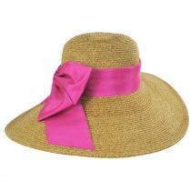 Side Bow Toyo Straw Sun Hat alternate view 3