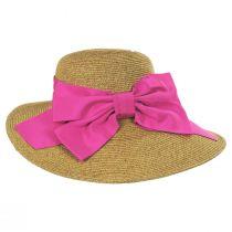 Side Bow Toyo Straw Sun Hat alternate view 4