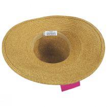 Side Bow Toyo Straw Sun Hat alternate view 5