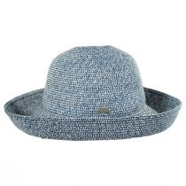 Classic Toyo Straw Roll Up Sun Hat in