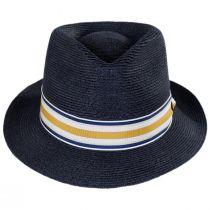 Luciano Hemp Straw Fedora Hat alternate view 2