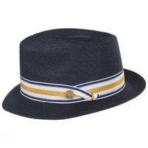 Luciano Hemp Straw Fedora Hat alternate view 3