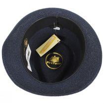 Luciano Hemp Straw Fedora Hat alternate view 4