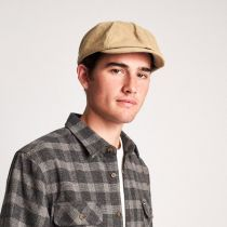 Brood Adjustable Corduroy Newsboy Cap in