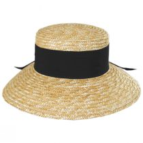 Riveria Milan Straw Downbrim Sun Hat alternate view 6