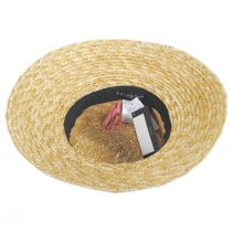 Riveria Milan Straw Downbrim Sun Hat alternate view 8