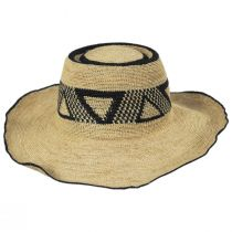 Pecos Raffia Straw Sun Hat alternate view 2