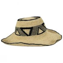 Pecos Raffia Straw Sun Hat alternate view 3